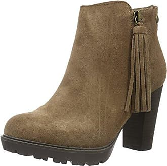 Womens Botin Sra. Womens Botin Sra. C. C. Combinado Taupe Short Boots Xti Combinado Bottes Courtes Xti Couleur Taupe YOms94ML