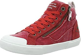 Y25160, Montantes Femme - Rouge - Rouge (Red), 39 EUYellow Cab