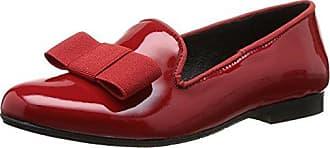 Yep Anne Marie - Cuir Rouge Mocassins Fille Rouge (rouge Vernis) 30 F7ue1KYr