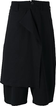 Shorts for Men On Sale, Black, Cotton, 2017, L M Yohji Yamamoto