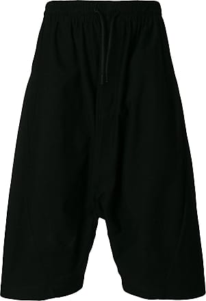 Shorts for Men On Sale, Black, Cotton, 2017, L M Yohji Yamamoto