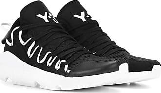 Kusari leather-trimmed sneakers Yohji Yamamoto hZhB1lzx