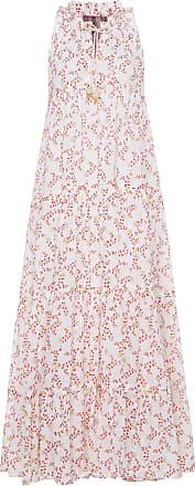 Floral-Print Poplin Maxi Dress Yvonne Sporre nqsqK2v