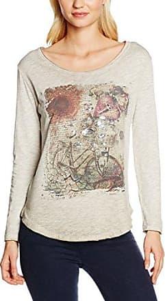 Zabaione 1/1 FR. Lilie, Camiseta para Mujer, Gris (Grey), Medium