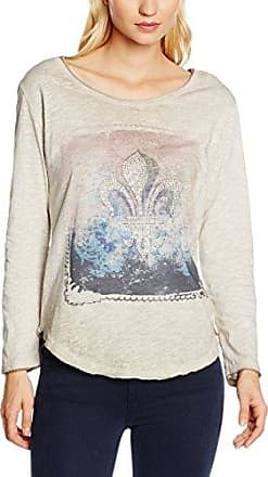 Zabaione 1/1 Federn, Camiseta para Mujer, Rosa (Mud), Small