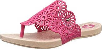 Fluffy Tong Fem, Chanclas para Mujer, Rosa (Pink 90419), 40 EU Zaxy