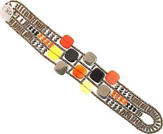Bracelet Pour Les Femmes, Orange Brique, Argent, 2017, Taille Bijoux Ziio