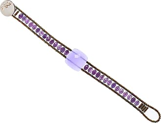 Ziio Jewellery Bracelet for Women, Gray, Hematite, 2017, One Size