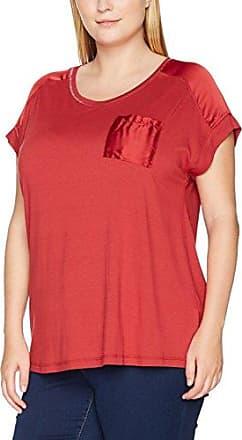Z99977A, T-Shirt Femme, Rouge (Winetasting), 48 (Taille du Fabricant: Medium)Zizzi