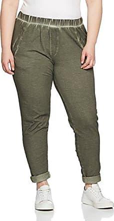 Zizzi Pants, Long, Pantalones para Mujer, Grau (Grey Melange 1849), 52(Talla del Fabricante: Large)
