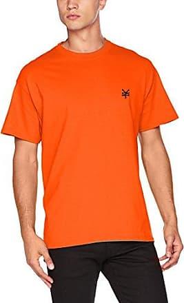 Polos à manches courtes Zoo York orange homme XYki3MpfFw