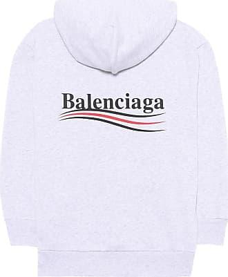 Bestickter Pullover Aus Einer Woll-kaschmirmischung Mit Stretch-anteil - Navy Balenciaga rF0IocnKYx