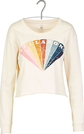 Baumwoll-Sweatshirt mit Rundhalsausschnitt und Siebdruck ACOTÉ Auslasszwischenraum Store In Deutschland Verkauf Online Erhalten Verkauf Online Kaufen Freies Verschiffen Zahlen Mit Paypal TDf7JpgJ
