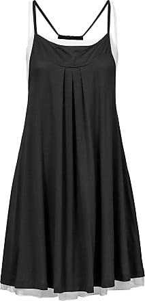 Shirtkleid mit Schnürung ohne Ärmel in schwarz von bonprix Bonprix 1B1Vlvh