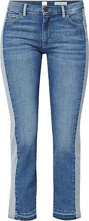 Straight Jeans TOLEDO Used Destroy Ziernähte hellblau HUGO BOSS 5x31s9