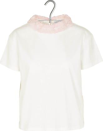 Baumwoll-T-Shirt mit Rundhalsausschnitt und Cut-out am Rücken Claudie Pierlot
