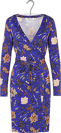 Minikleid Aus Seiden-twill Mit Blumendruck - Ultramarin Diane Von Fürstenberg In Deutschland Billig Sehr Billig Verkauf Online 9Ws1gH