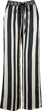 Billig Verkauf Manchester Gestreifte Satinhose im Pyjamastil DIEGA Genießen Freies Verschiffen Billig Viele Arten Von l0Coyacv