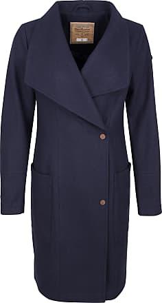 Mantel für Damen, Trenchcoat Günstig im Outlet Sale, Nachtblau, Polyamid, 2017, 42 Harris Wharf London