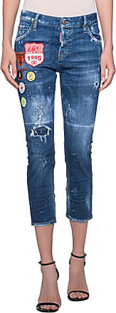 Stretch Denim COOL GIRL CROPPED Jeans 15 cm Herbst/Winter Dsquared2 K9HXI3