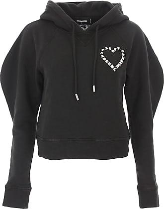 Sweatshirt für Damen%2c Kapuzenpulli%2c Hoodie%2c Sweats Günstig im Sale%2c Schwarz%2c Baumwolle%2c 2017%2c 38 40 42 Champion QZyuMtSw5