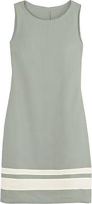 Leinenkleid im Bicolor-Look%2c schilf/weiß Enna 6EjZCA