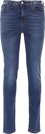 Jeans, Bluejeans, Denim Jeans für Damen Günstig im Sale, Denim Blau, Baumwolle, 2017, 39 41 Fay