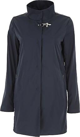 Mantel für Damen%2c Trenchcoat Günstig im Sale%2c Nachtblau%2c Wolle%2c 2017%2c 40 42 44 48 Fay DBHUMWISb