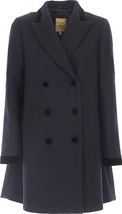 Mantel für Damen, Trenchcoat Günstig im Outlet Sale, Schwarz, Wolle, 2017, 42 Fay
