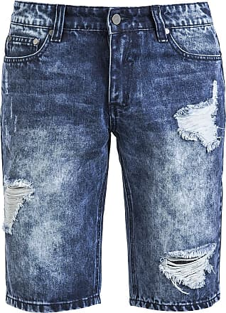 Destroyed Jeans Short Shorts blau Forplay 0q5JCL