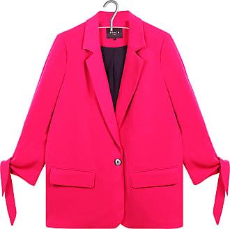 Gerade geschnittene Jacke mit Schleifen an den Ärmeln FRNCH Rabatt Vorbestellen J7Hya9