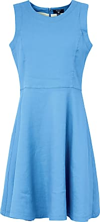 rmelloses Kleid GANT blau GANT 5mZlpP