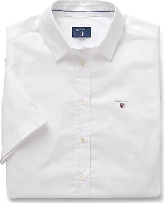 Kurzarm Solid Stretch Oxford Bluse GANT tWZMy