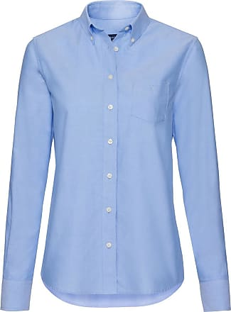 Kurzarm Solid Stretch Oxford Bluse GANT igjG3UKsX