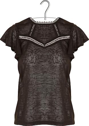 Spitzen-T-Shirt mit Rundhalsausschnitt und Rückenausschnitt Grace & Mila akLWMu6qG0