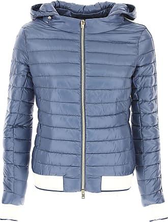 Daunenjacke für Damen%2c wattierte Ski Jacke Günstig im Sale%2c Hellgrau%2c Poliamyd%2c 2017%2c 40 Herno VHQ6aS2rhx