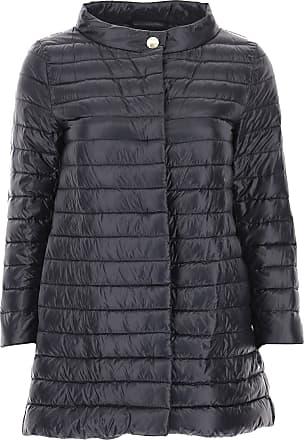 Daunenjacke für Damen%2c wattierte Ski Jacke Günstig im Sale%2c Hellgrau%2c Poliamyd%2c 2017%2c 40 Herno oCWYOv4U