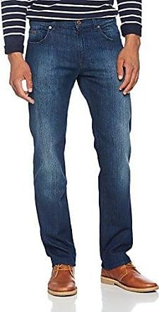 Straight Jeans TOLEDO Used Destroy Ziernähte hellblau HUGO BOSS lEpf5W72N
