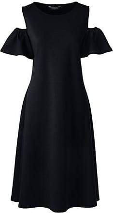 Gemustertes Jerseykleid mit Wickeloberteil in Petite-Größe - Pink - 32-34 von Lands End Lands End