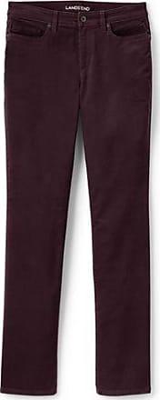 Taillenhohe Straight Jeans in Schwarz, Petite-Größe - Schwarz - 34 66 von Lands End Lands End