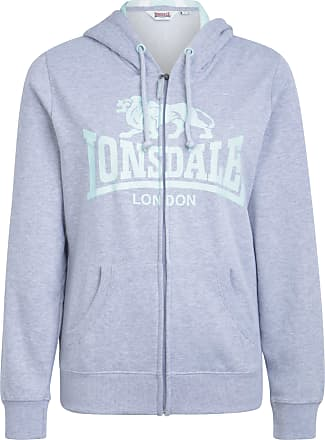 Jacke mit schrägem Reißverschluss »ULVERTON«%2c grau%2c Ash Grey Lonsdale pRlB5reULg