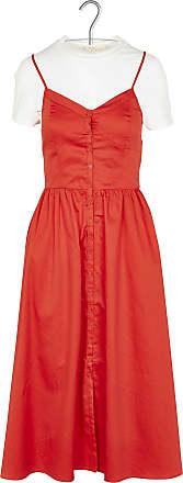 Langes Kleid mit Ajourmuster Maje gVIRX