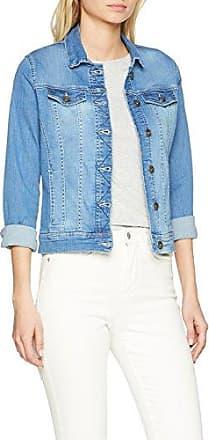 Jeansjacke mit Rüschen%2c blau%2c denim More & More UulhuDVe