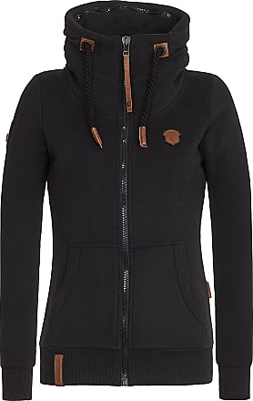 Naketano Monsterbumserin - Sweatjacke für Damen - Grau Naketano