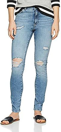 Liv Nw Straight Fit Jeans Dames Blauw Noisy May qdl9QFq