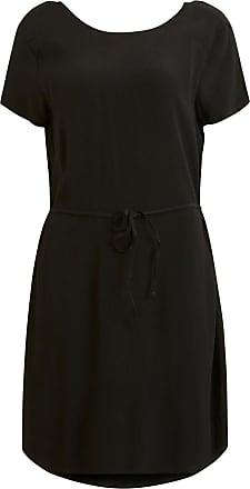 Schlichtes Kleid Mit Kurzen Ärmeln Dames Zwart Object CgD7h