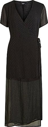 Langes Kleid Ohne Ärmel Dames Zwart Object SuhJCmw