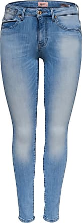 Carmen Reg Coin Skinny Fit Jeans Dames Blauw Only LKmhfSol