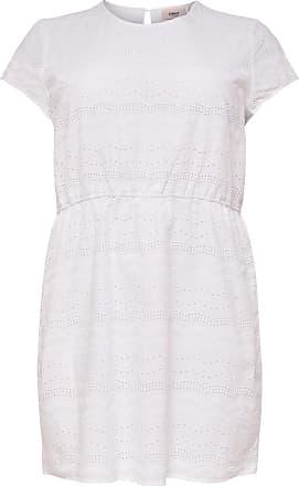 Lockeres Curvy Kleid Mit Kurzen Ärmeln Dames Zwart Only Wr89upm