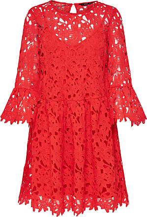 Spitzen Kleid Mit Langen Ärmeln Dames Rood Only Verkauf Wirklich Bester Verkauf Zum Verkauf Auslass Wiki Original Günstiger Preis Billig Bequem WUJhWOjg8H